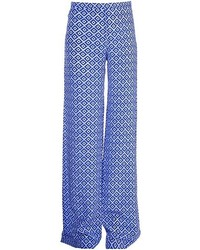 Saloni Printed Wide Trousers