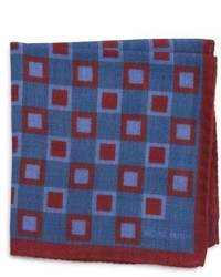 Michael Bastian Michl Bastian Geometric Pocket Square