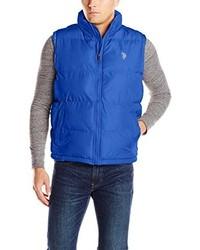 Basic front zip puffer vest medium 169819