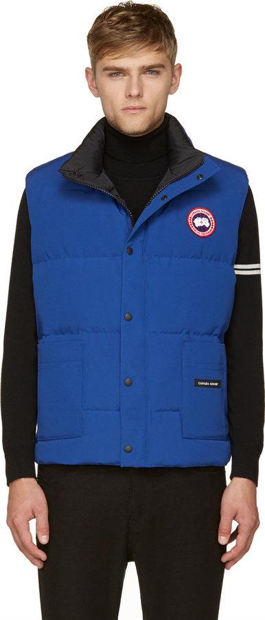 canada goose puffer vest