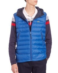 Lacoste Hooded Puffer Vest