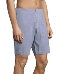 53093751fd Orlebar Brown Dane Ii Gingham Cotton Shorts, $245   Saks Fifth ...