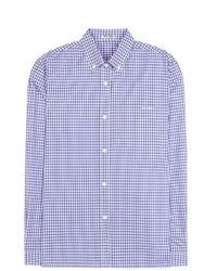 Miu Miu Check Cotton Shirt