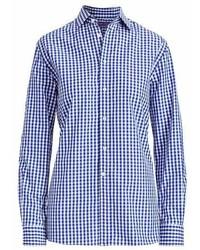 Ralph Lauren Collection Collection Adrien Cotton Gingham Shirt