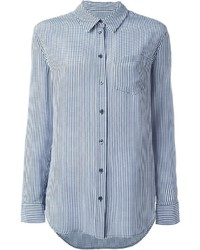 Equipment gingham print shirt medium 440078