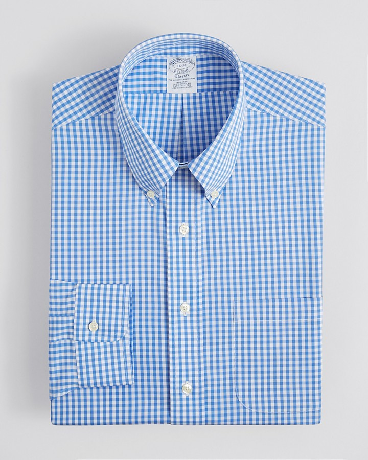 Brooks Brothers Gingham Check Dress Shirt | Where to buy & how to wear