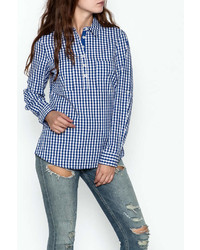 Gingham shirt medium 6990173