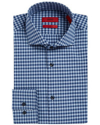 Hugo Meli Checked Dress Shirt