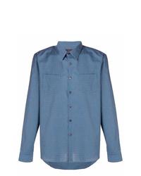 Prada Plaid Classic Shirt