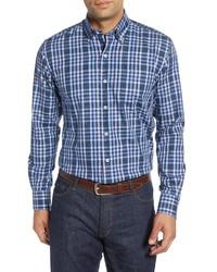 Peter Millar Baker Island Regular Fit Check Sport Shirt