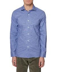 Hickey Freeman Bleeker Regular Fit Plaid Button Up Shirt