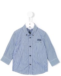 Boss Kids Gingham Check Shirt