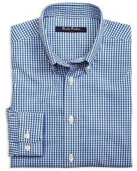 Brooks Brothers Boys Gingham Woven Button Down Shirt Sizes Xs Xl