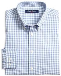 Brooks Brothers Boys Non Iron Gingham Shirt Sizes Xs Xl