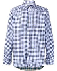 Junya Watanabe MAN Contrast Check Print Shirt