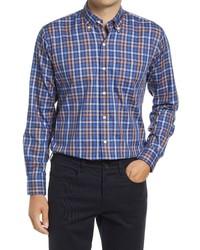 Peter Millar Crown Ease Langley Check Shirt
