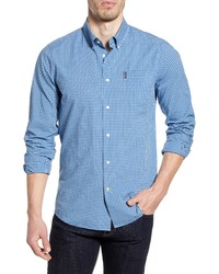 Barbour Gingham 19 Tailored Fit Button Up Shirt