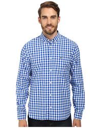 Lacoste Long Sleeve Gingham Poplin Woven Shirt