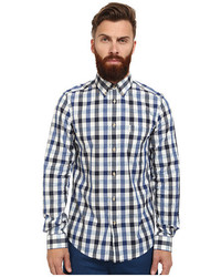 Ben Sherman Long Sleeve Space Dye Gingham
