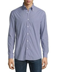 Ralph Lauren Mini Gingham Sport Shirt Navy