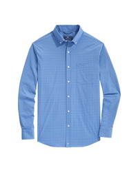 Vineyard Vines On The Go Classic Fit Gingham Shirt