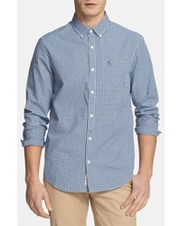 Original penguin gingham shirt estate blue large medium 401466