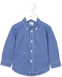 Ralph Lauren Kids Gingham Check Shirt