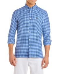 Lacoste Slim Fit Gingham Sport Shirt