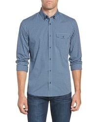 Nordstrom Men's Shop Tech Smart Slim Fit Check Sport Shirt