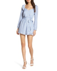 Ali & Jay Lovely As Can Be Gingham Romper