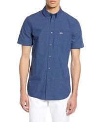 Lacoste Regular Fit Gingham Sport Shirt