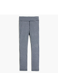 J.Crew Puckered Gingham Capri Tights
