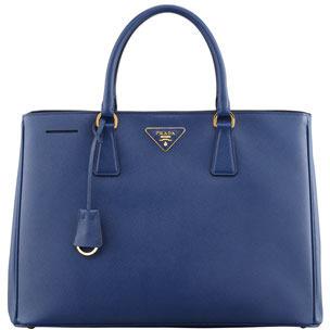 19098f3da942 Prada Saffiano Gardeners Tote Bag Blue, $2,200 | Neiman Marcus ...