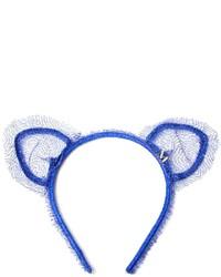 Maison michel heidi cat ears headband medium 118881