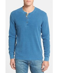 Tailor Vintage Classic Fit Waffle Knit Henley