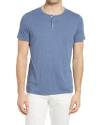 Benson Short Sleeve Henley T Shirt