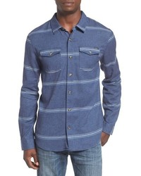 O'Neill Ashland Herringbone Stripe Flannel Shirt