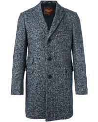 Tod's Herringbone Tweed Coat