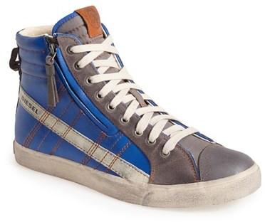 ... Sneakers Diesel D Velows D String Zip High Top Sneaker ...