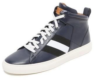 Bally Hedern High Top Sneakers, $495