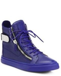 10b71c9c515a6 Giuseppe Zanotti Men's Blue Sneakers from Saks Fifth Avenue | Men's ...