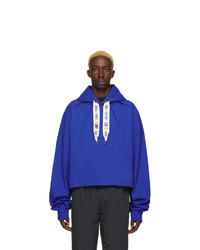 Reebok By Pyer Moss Blue Collection 3 Jersey Hoodie