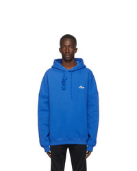 We11done Blue Hoodie