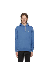 Ps By Paul Smith Blue Zebra Hoodie