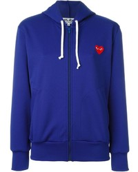 Comme des Garcons Comme Des Garons Play Embroidered Heart Hoodie