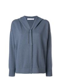 Drawstring hooded cardigan medium 7620917