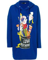 Oversized logo hoodie medium 4414047