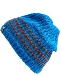 Men s Blue Horizontal Striped Beanies by The North Face  af82131e805