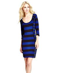 Jessica Simpson Hannah Mixed Striped Dress