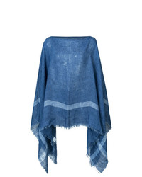 Destin Striped Poncho